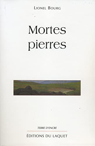 9782910333980: Mortes pierres (Collection Terre d'encre) (French Edition)