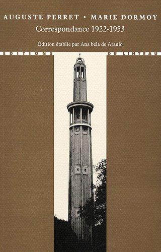 9782910342524: correspondance 1922-1953