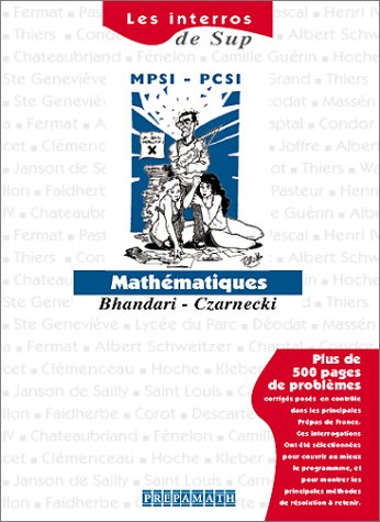 9782910350130: Mathématiques Sup MPSI-PCSI