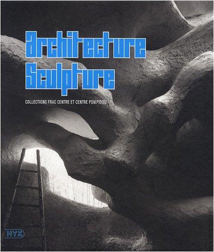 9782910385552: Architecture sculpture : Collections Frac centre et Centre Pompidou