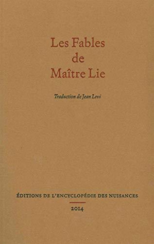 9782910386443: Les Fables de Maître Lie