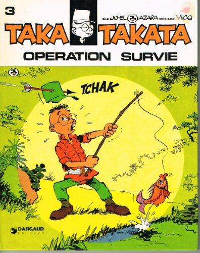 9782910418083: Taka takata - t4 - operation survie