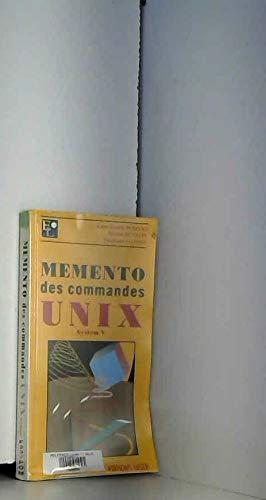 9782910525033: Memento des commandes UNIX System V