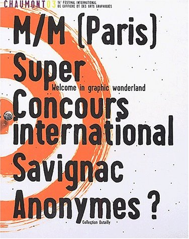 Chaumont 03 - M/M (Paris) Super Concours International Savignac Anonymes?: Bernheim, Francois