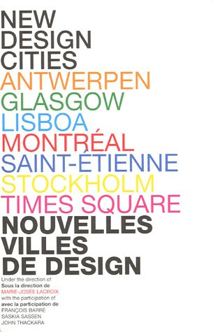 New Design Cities (French Edition): MARIE-JOSEE LACROIX