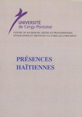 9782910687212: Présences haïtiennes (French Edition)