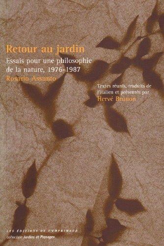 Retour au jardin (French Edition): Anonyme