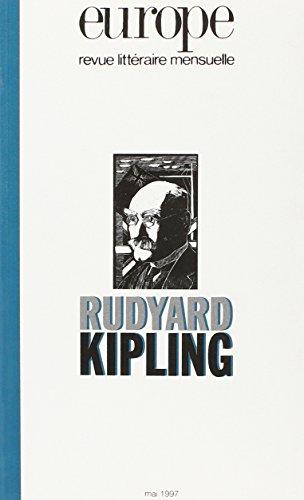 9782910814229: REVUE LITTERAIRE EUROPE NO 817 MAI 1997 RUDYARD KIPLING