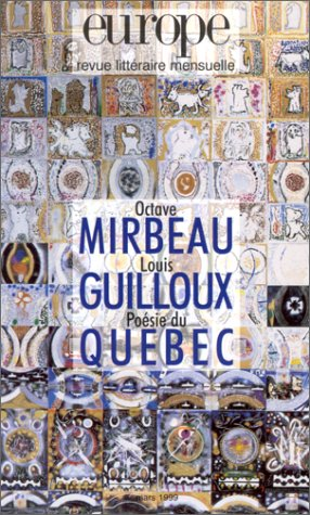 Europe Octave Mirbeau Louis Guilloux N839