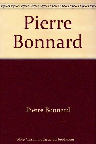 9782910826161: Pierre Bonnard