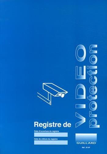 9782910833589: Registre de vidéo-protection