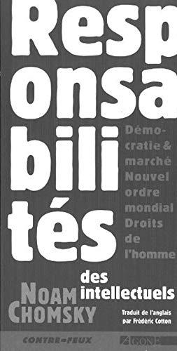 Responsabilités des intellectuels (2910846083) by Noam Chomsky