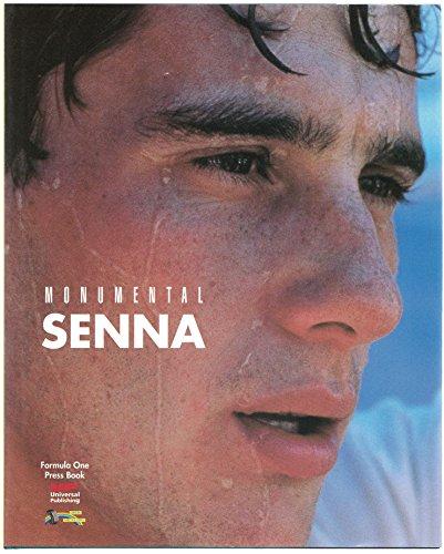 Monumental Senna (special Limited Edition) 500 Copies: Formula One Press Book; Formula One Press ...