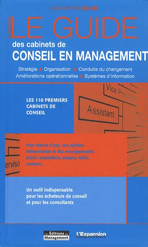 Le guide des cabinets de conseil en: Hugot, Jean-Baptiste, Leneuf,