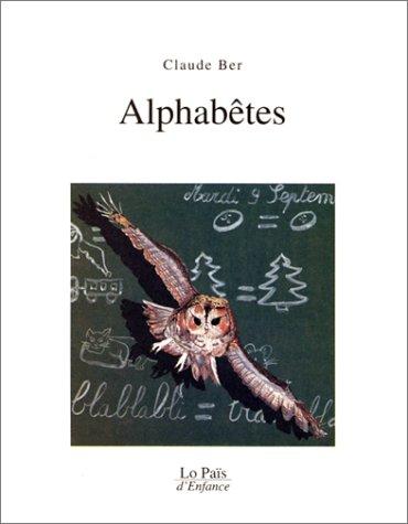 ALPHABÊTES (LES): BER CLAUDE