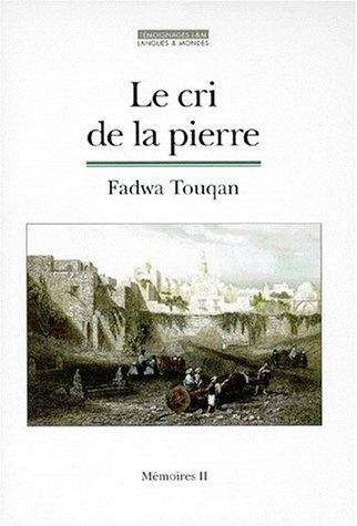 9782911053313: Mémoires, N° 2 : Le cri de la pierre