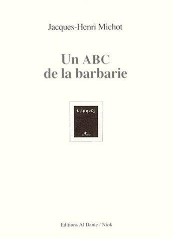 9782911073250: Un ABC de la barbarie