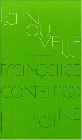 9782911127786: La nouvelle française contemporaine