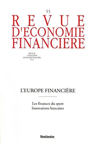 L'europe financiere nc55. les ifnances du sport. innovationsbancaires (French Edition): ...