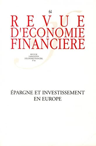 Revue d'economie financiere, N° 64 Mars 2002 (French Edition): Collectif