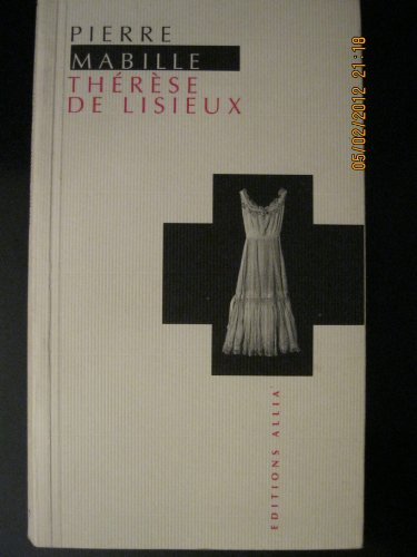 9782911188190: Therese de lisieux (French Edition)