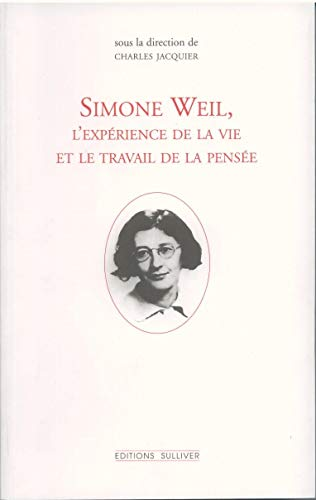 9782911199257: Simone Weil (Editions Sulliv)