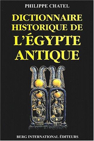 9782911289330: Dictionnaire historique de l'Egypte antique