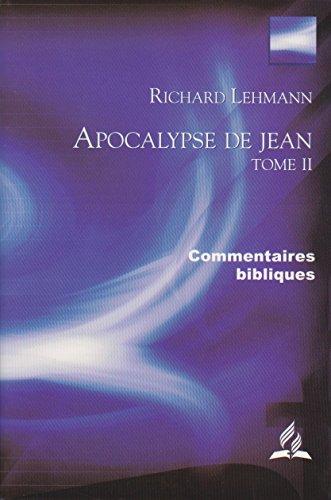 9782911358074: Apocalypse de Jean
