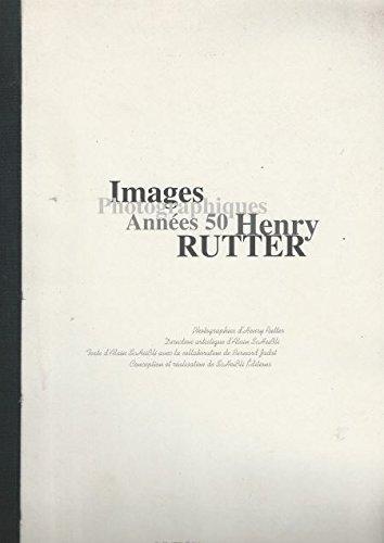 9782911467035: Henry Rutter : imags des années 50
