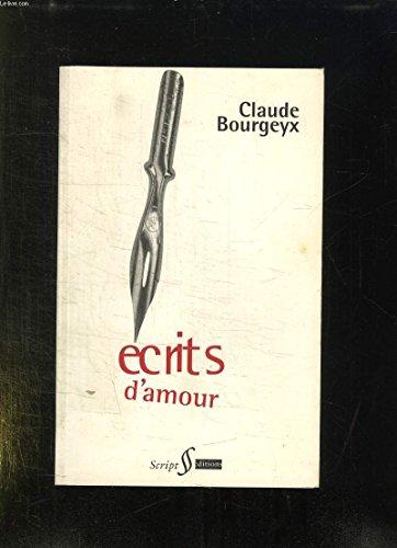 9782911511004: Ecrits d'amour