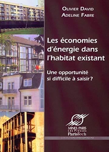 9782911762796: Les économies d'énergie dans l'habitat existant (French Edition)