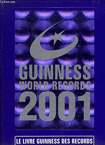 Livre Guinness records, 2001