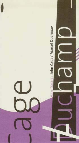 9782911991325: John Cage/Marcel Duchamp
