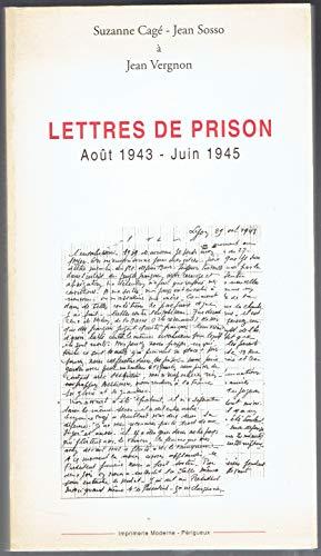 9782912032003: Lettres de prison : Août 1943-Juin 1945