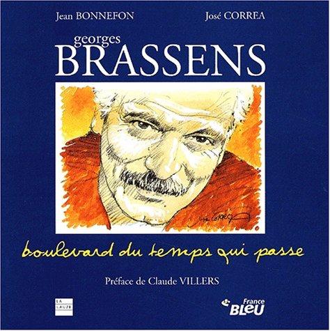 9782912032270: Georges brassens. boulevard du temps qui passe