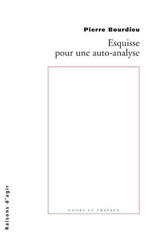 9782912107190: Esquisse pour une auto-analyse