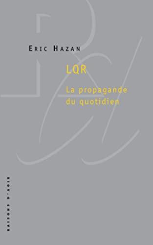 LQR: la propagande du quotidien: Hazan, Éric