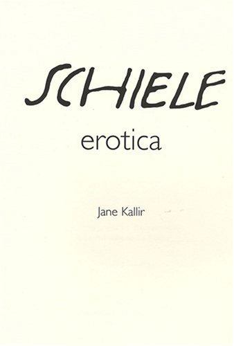 9782912257321: Egon Schiele : Erotica