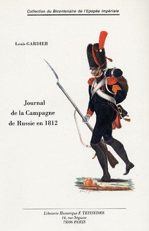 9782912259226: Un journal de la campagne de Russie en 1812