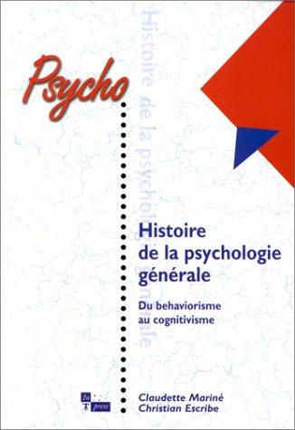 Histoire, psychologie générale: Marine Escribe