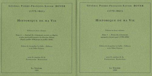 9782912431127: Historique de ma vie : 2 volumes