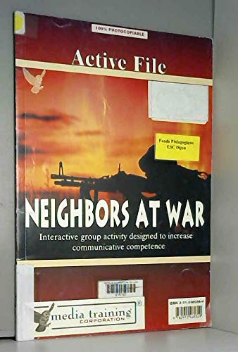 9782912460349: Neighbors at War (French Edition)