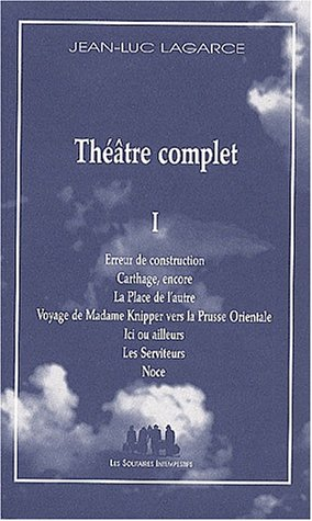9782912464798: Theatre complet (French Edition)