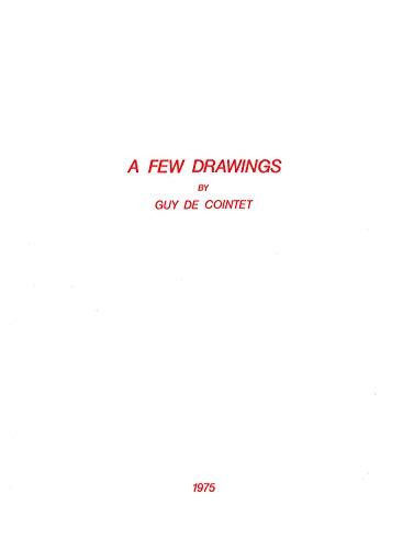 9782912483423: A few drawings