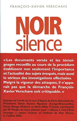 9782912485151: Noir silence (Documents)