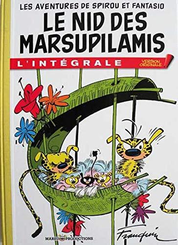 9782912536549: Les Aventures de Spirou et Fantasio : Le Nid des Marsupilamis : L'intégrale