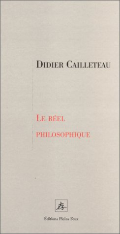 9782912567734: Le r�el philosophique, tome 1