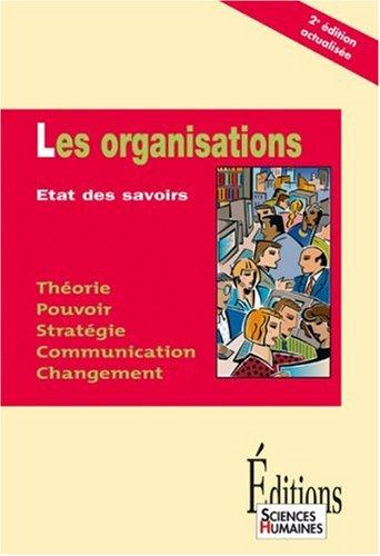 9782912601339: Les organisations : Etat des savoirs