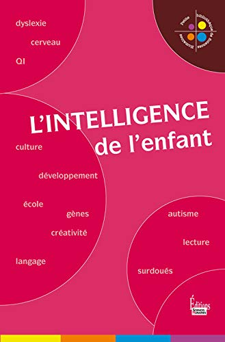 9782912601896: L'intelligence de l'enfant