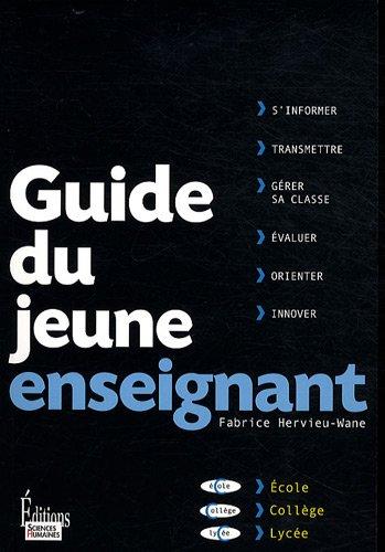 9782912601926: Guide du jeune enseignant (French Edition)